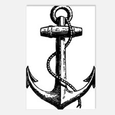 AnchorBlack Postcards (Package of 8)