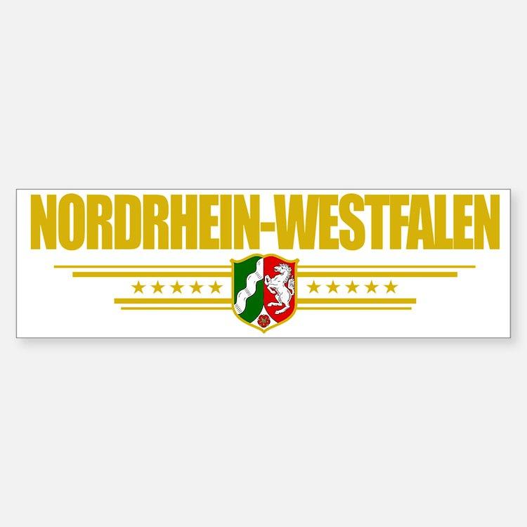 Nordrhein-Westfalen (Flag 10) poc Bumper Bumper Sticker