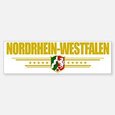 Nordrhein-Westfalen (Flag 10) poc Sticker (Bumper)