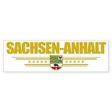 Sachsen-Anhalt (Flag 10) pocket Bumper Sticker
