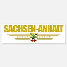 Sachsen-Anhalt (Flag 10) pocket Sticker (Bumper)