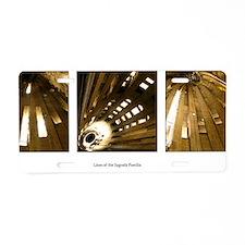 linessagrada Aluminum License Plate