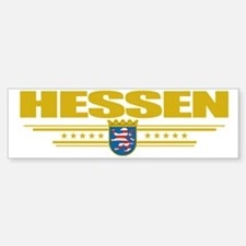 Hessen (Flag 10) pocket Bumper Bumper Sticker