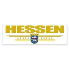 Hessen (Flag 10) pocket Bumper Sticker