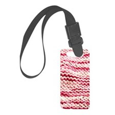 pinkKnitting_flip Luggage Tag