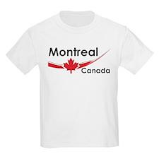 Montreal Canada Kids T-Shirt