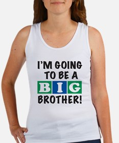 2T back Big Bro BLUE Women's Tank Top
