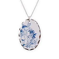 Blue Fairies Necklace