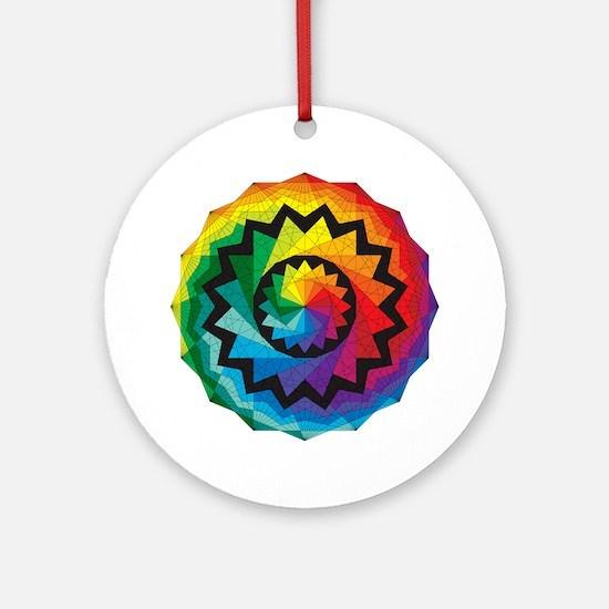 colorwheel Round Ornament