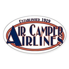 AircamperAirlines Decal