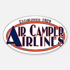 AircamperAirlines Sticker (Oval)