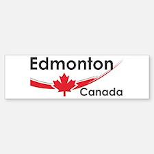 Edmonton Canada Bumper Bumper Bumper Sticker
