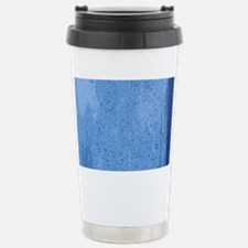PRINTS - denim Stainless Steel Travel Mug
