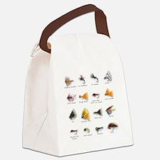 Flies Canvas Lunch Bag