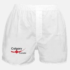 Calgary Canada Boxer Shorts