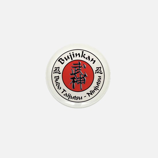 Bujinkan Crest Mini Button