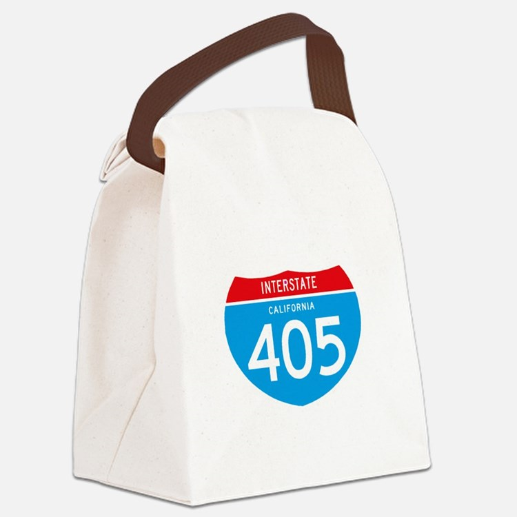 interstate405F Canvas Lunch Bag