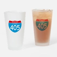 interstate405F Drinking Glass