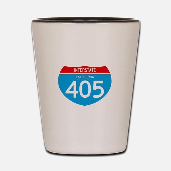 interstate405F Shot Glass