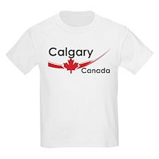 Calgary Canada Kids T-Shirt