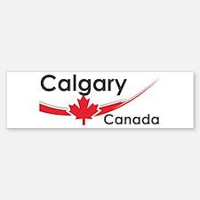 Calgary Canada Bumper Bumper Bumper Sticker
