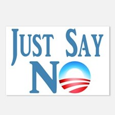 Just Say NO Postcards (Package of 8)