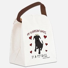 PitBullBlk Canvas Lunch Bag