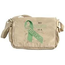 My Daughter is a Survivor Messenger Bag