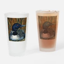 loon 2 Drinking Glass