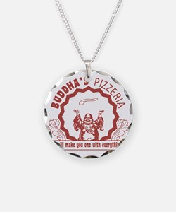 BuddhaspizzaPNG Necklace Circle Charm