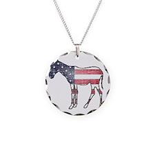 donkey-american-flag Necklace
