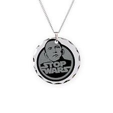 obama-stop-wars Necklace