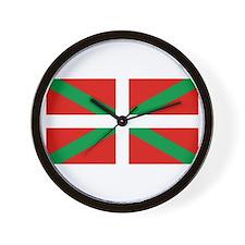Basque_Dark Wall Clock