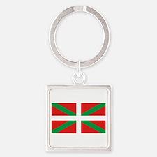 Basque_Dark Square Keychain