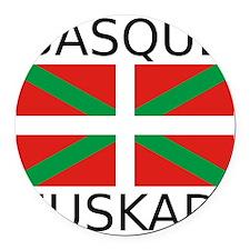 Basque Round Car Magnet