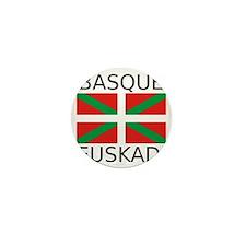 Basque Mini Button