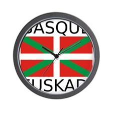 Basque Wall Clock
