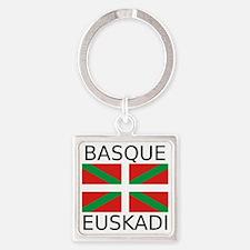 Basque Square Keychain