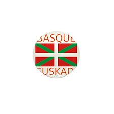 Basque_Orange Mini Button