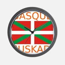 Basque_Orange Wall Clock