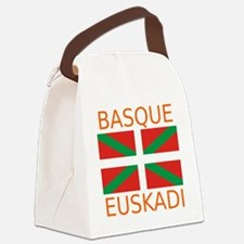 Basque_Orange Canvas Lunch Bag