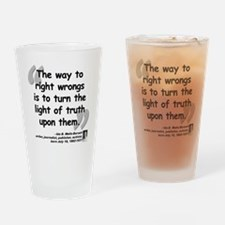 Wells Truth Quote Drinking Glass