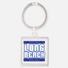 Long Beach copy Square Keychain