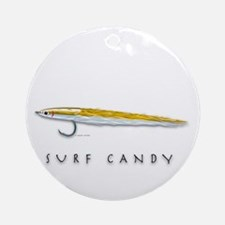 Surf Candy Round Ornament