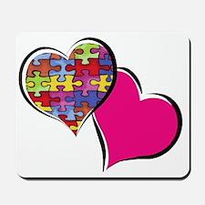 corazones Mousepad