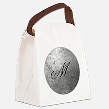 MetalSilvMneckTR Canvas Lunch Bag