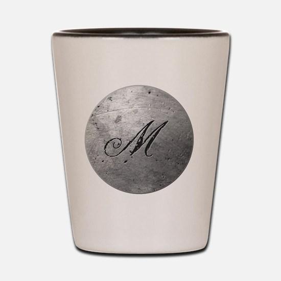 MetalSilvMneckTR Shot Glass