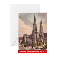 Archbishop Hughes Book back cover 02 Greeting Card