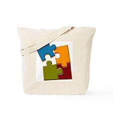 piezas de autismo2 Tote Bag