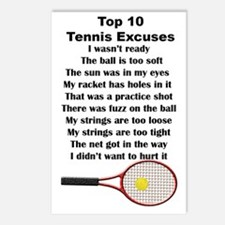 10Tennis2V Postcards (Package of 8)